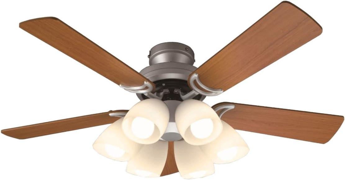 オーデリック LEDシーリングファン 5枚羽根 リモコン付き SH9073LDR W