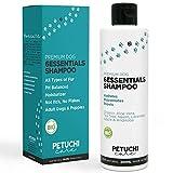 PETUCHI Champú para Perros Bio; Hipoalergénico, Repelente y Hidratante para Piel Sensible; 100% Natural; 300ml