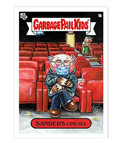 2021 Topps Garbage Pail Kids Gamestonk! Includes 12 Pieces Sticker Trading...