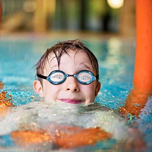 DAUERHAFT Equipo de natación Gafas de natación Vista submarina súper Ancha Impermeable, a Prueba de Fugas y antivaho, para Nadar, para Mujeres(YG07 Minglan)