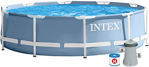 Intex Round Metal Frame Pool (305X76) Model (56999)