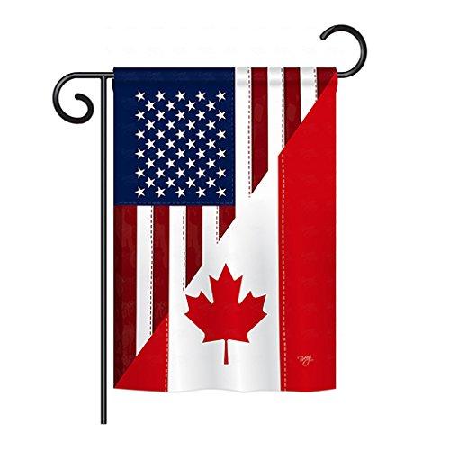 us canada flag - 1