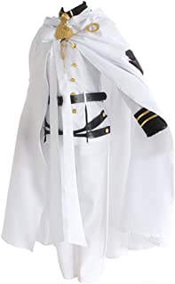 Gegexli Anime Seraph of The End Vampire Reign Cosplay Costumes Mikaela Hyakuya Uniforms Halloween Party