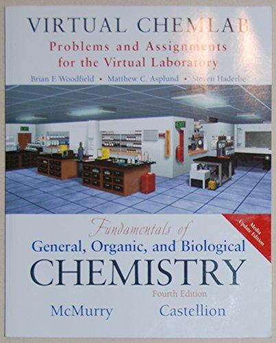 Virtual ChemLab: General Chemistry, Student Lab Manual/workbook, to Accompany