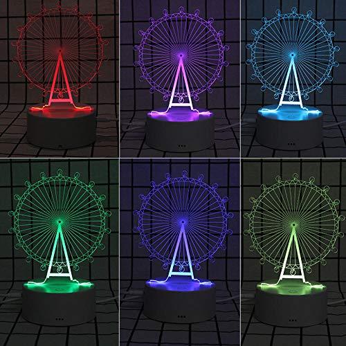 3D Kleine Tafellamp Nacht lamp Gift Nachtlampje Mode Dier Nachtlamp 3D Creatieve Tafellamp Bos Fawn Afstandsbediening (16 Kleuren)