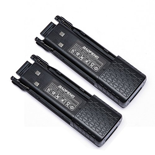 BaoFeng Battery Accessories BL-8 Backup Battery for BaoFeng UV-82 Series 3800mAh 7.4V (2 Pack)