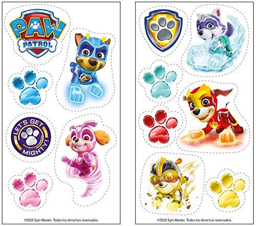 Dekora 231371 Essbare Kuchen- und Cupcake-Dekorationen, für Freunde von Paw Petrol Mighty Pups