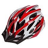 Asvert Casco Bicicleta Hombre Carretera MTB Visera PC+EPS Doble Protecciones Casco...