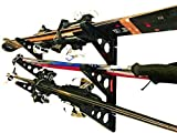 StoreYourBoard Ski Storage Rack, Horizontal Wall Rack