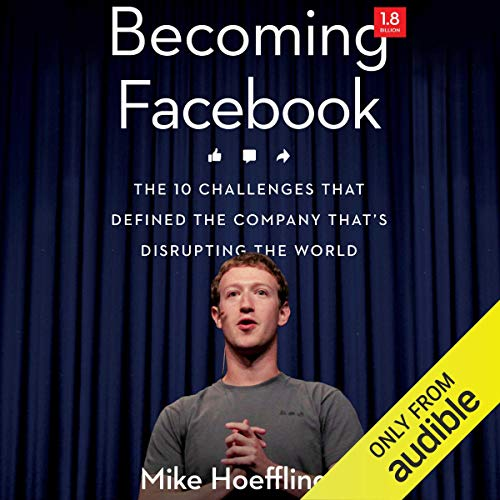 Becoming Facebook audiobook cover art