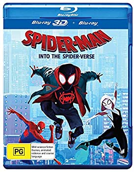 Spider-Man  Into the Spider-Verse 3D  Blu-ray 3D/Blu-ray