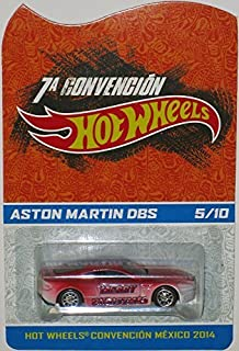 ASTON MARTIN DBS Hot Wheels 2014 Mexico Convention Aston Martin DBS Very Rare Limited Edition 1:64 Scale Collectible Die Cast Car - Only 10 Made Worldwide!!! Code-3