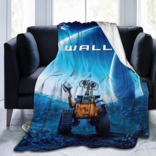 "Wall-E Ultra-Soft Micro Fleece Throw Blanket 3D Printed Lightweight Cozy Bed Sofa Blanket 50"""" x40"