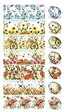 ukrainisches-kunsthandwerk - Pellicola artigianale ucraina per uova di Pasqua, colorazione per uova, 70 diversi motivi tra cui scegliere (21, 6, 9, 12, 16, 17, 19, 20, 23, 26)