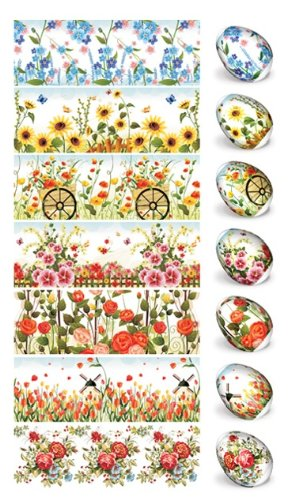 ukrainisches-kunsthandwerk Ostereier Folie. Eier Färben - 70 Verschiedene Muster.Blumen.Kinder, Marchen. (21,6,9,12,16,17,19,20,23,26)