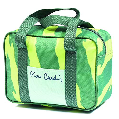 Pierre Cardin, Verde, línea Haiti, Bolsa térmica, 6 litros