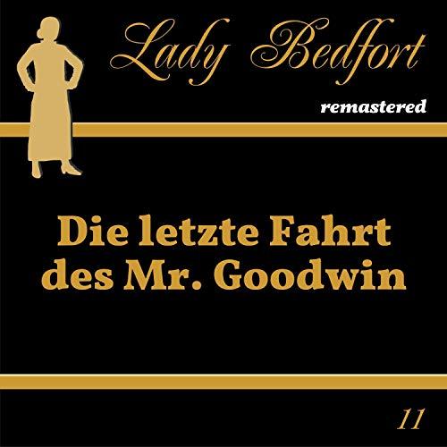 Page de couverture de Die letzte Fahrt des Mr. Goodwin
