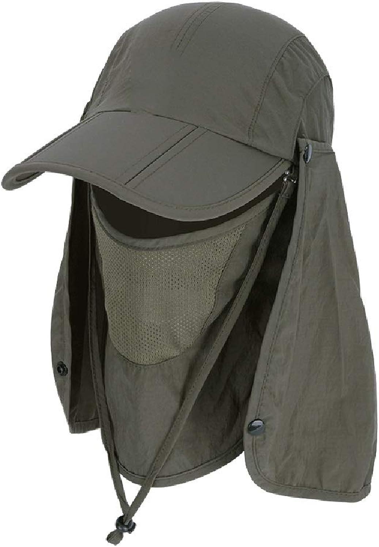 b91db4a56 Folding Folding Folding Sun Hat 360° UV Predection Mask Cap for Men ...