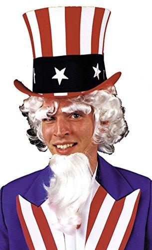 Uncle Sam Goatee Eyebrow Wig