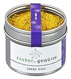 Gewürzmischung Zauber der Gewürze Curry fruchtig-mild in Premium-Qualität - feines Gewürz in Aromadose - für Reisgerichte, Geflügel oder Gemüse, 55g