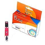 TS-Print Cartucho de Tinta Compatible para Canon CLI-571M XL 12ml Rojo Magenta