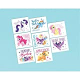 amscan Assorted My Little Pony Character Temporary Tattoos- 8 pcs.