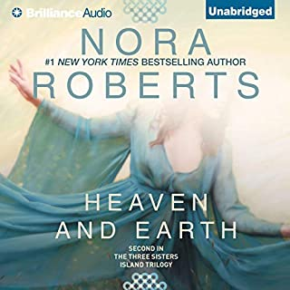 Heaven and Earth     Three Sisters Island Trilogy, Book 2              Written by:                                                                                                                                 Nora Roberts                               Narrated by:                                                                                                                                 Sandra Burr                      Length: 10 hrs and 5 mins     10 ratings     Overall 4.4