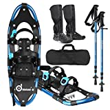 Best Snowshoes For Women - Odoland 4-in-1 Snowshoes Snow Shoes for Men Review