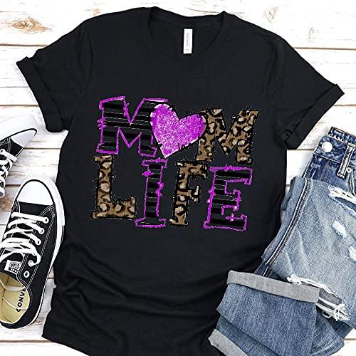 Camiseta de Manga Corta Camisa 3D Super Mama, Camiseta para Mujer, Estampado De Moda para Niños, Hip Hop, Verano, Harajuku, Estética para Mujer, Cuello Redondo Diario M 906M-810-Su