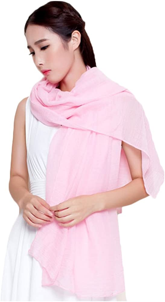 Bluelans Women's Fashion Soft Plain Scarf Shawl Stole Wrap Ladies Long Scarves