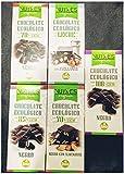 Pack chocolates artesanos ecologicos 5x100g.