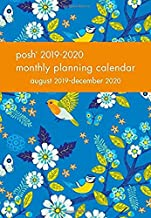 Posh: Birds & Blossoms 2019-2020 Monthly Pocket Planning Calendar