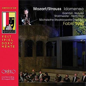 Strauss: Idomeneo, TrV 262 (After W.A. Mozart) [Live]