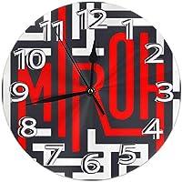 掛時計 インテリア 丸形 静音 ノベルティ Stray Kids ストレイキッズ 印刷 連続秒針 木製 壁掛け時計 直径25cm 最高の装飾