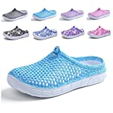 CN-Porter Womens Summer Breathable Mesh Sandals,Slippers,Beach Footwear,Water Shoes,Indoor Shoes,bash Shoes,Anti-Slip Blue
