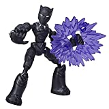 Avengers- Bend and Flex Figura Black Panther 15 cm (Hasbro E78685X0)