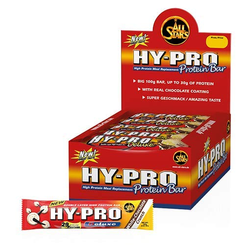 All Stars Hy-Pro Deluxe Bar, Chocolate-Nut-Crunch, 24 Riegel