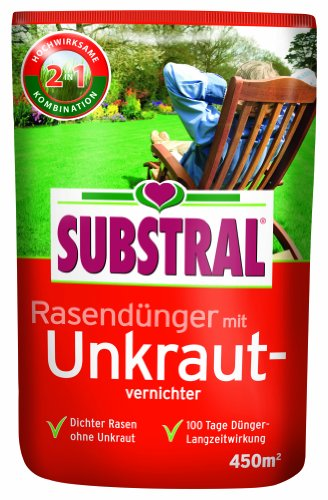 Substral Rasendünger mit Unkrautvernichter f. 450 m² - 9 kg