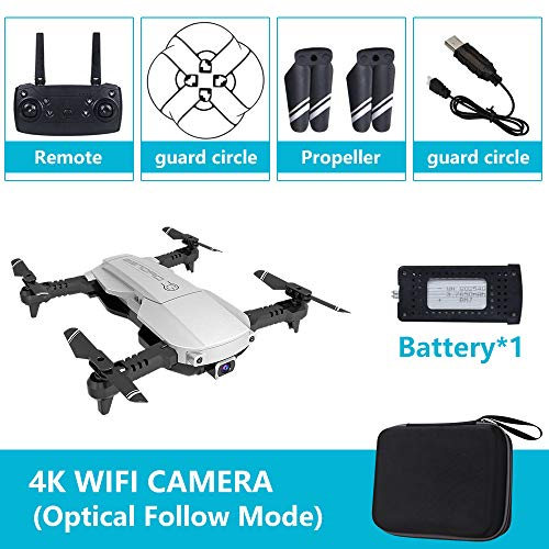 OUYAWEI Drone x pro 5G Selfie WiFi FPV met 4K HD Dual Camera Opvouwbare RC Quadcopter