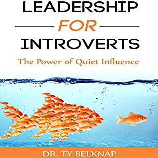 Leadership for Introverts audiobook cover art