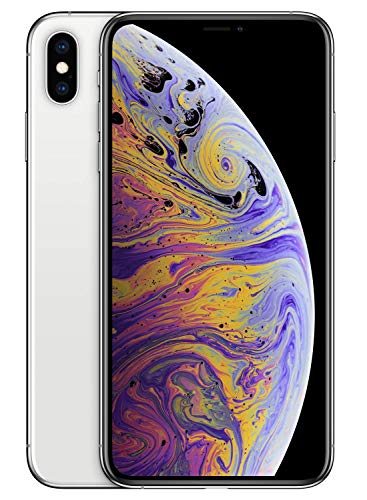 Apple iPhone XS Max (64GB) - Silver [works exclusively with Simple Mobile]