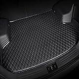 para Honda CR-V CRV Hybrid 2017-2021 Tailored Coche Cuero Alfombrillas Maletero Interiores Accesorios Bandeja Protectora Carga Alfombra Maletero Durable Impermeable AntiarañAzos Negro Beige