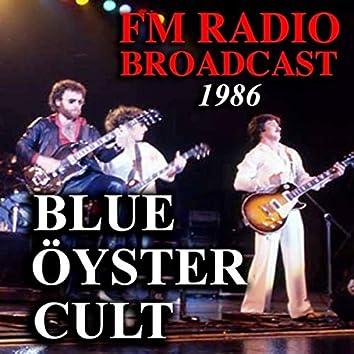 FM Radio Broadcast 1986 Blue Öyster Cult