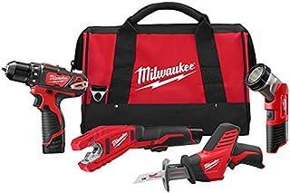Milwaukee 2499-24 M12 Combo 3/8 Drvdrl/Hackz/Copper Tube Cutter