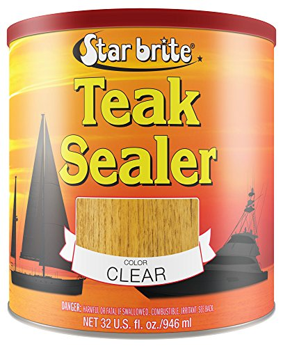 STAR BRITE Teak Sealer - Durable, One Coat Coverage for All Fine Woods...