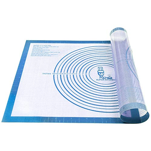 Nonstick Silicone Pastry Mat Extra Large with Measurements 28''By 20''...