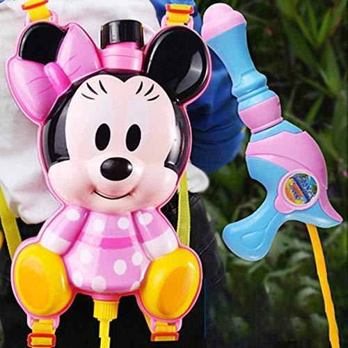 PRWJH Rucksack Wasserpistole für Kinder Wet Toys Wasserpistole Hochleistungs-Blaster Soaker Water Squirt Gun Schwimmbad Summer Beach Sand Wasserpistole Toy-Minnie_2.2L