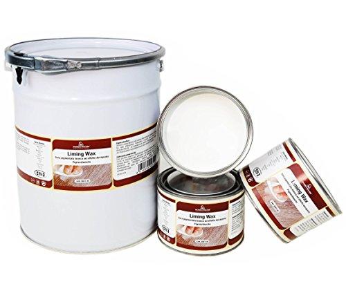 Shabby Chic Landhaus Liming Wax Kalkwachs Pigment Wachs weiss 5 Liter