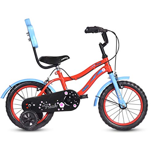 Hero Freak 14T Single Speed Cycle (Red and Blue)