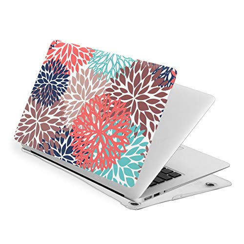 Beautiful Dahlia Laptop Computer Cover Durable Anti-Static Notebook Hard Shell Case for Office